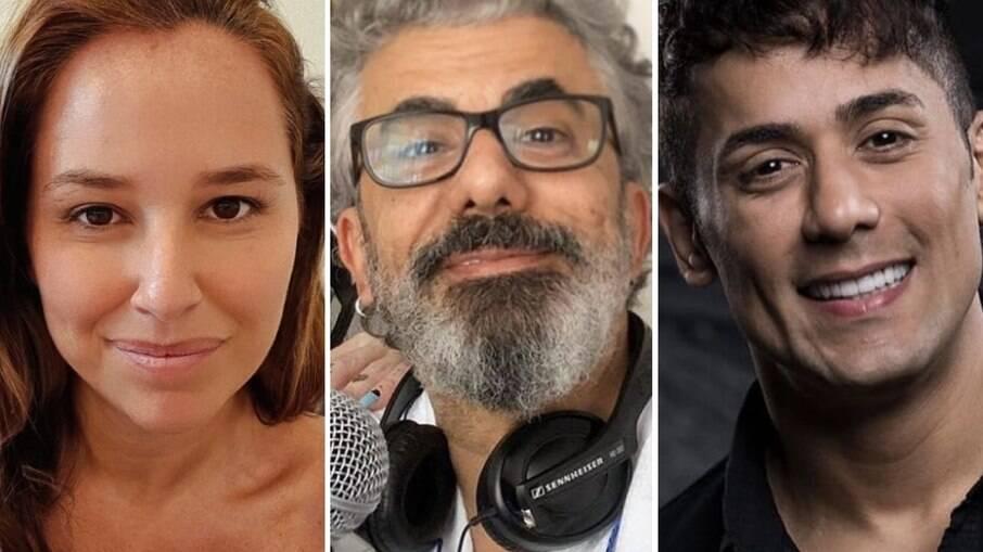 Mari Belém, Zé Luiz e Tiago Piquilo