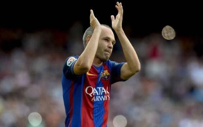 Andrés Iniesta chegou ao Barcelona quando tinha apenas 12 anos de idade, nas categorias de base do clube