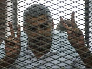 Mohamed Fahmy foi julgado por suposto apoio à Irmandade Muçulmana, em junho de 2014, no Egito