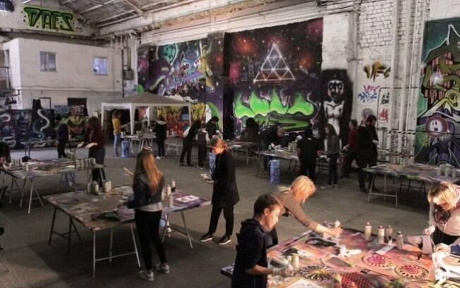 O Alternative Berlin Tours, em Berlim, oferece passeios e atrações culturais que incluem a arte de rua