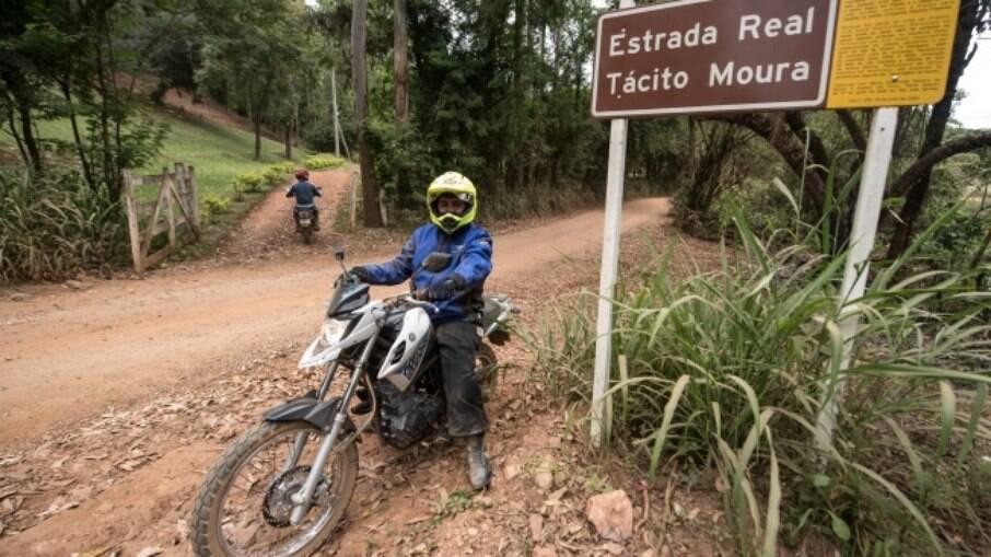 Tour da Crosser na Estrada Real