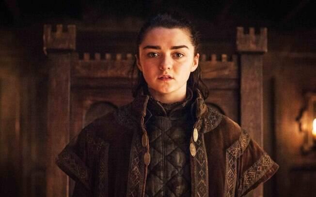 Arya Stark é uma das personagens mais queridas de Game of Thrones e, entre os nomes de bebês, é o mais popular