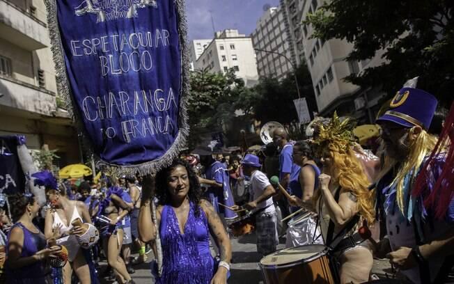 Bloco Charanga agita São Paulo nesta segunda-feira (24)
