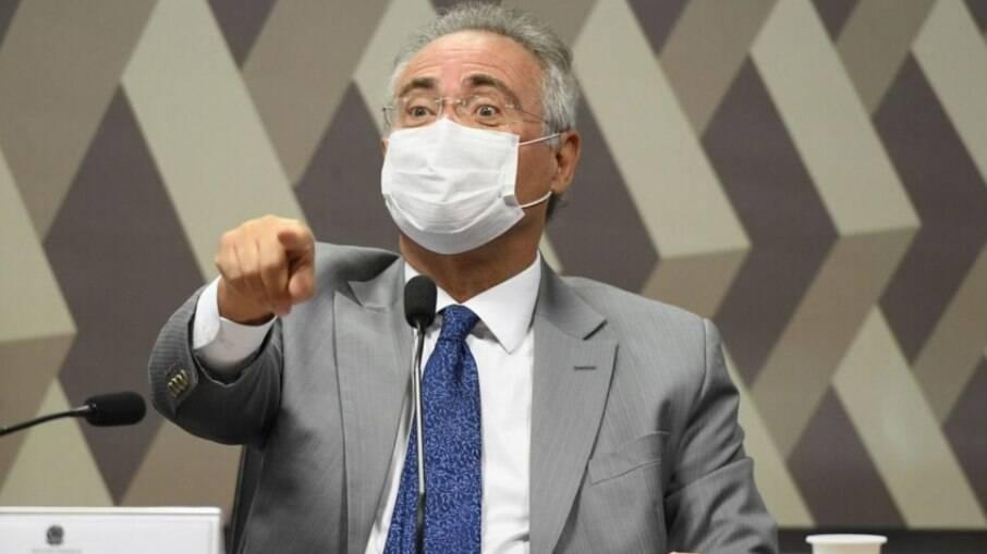 Renan Calheiros (MDB-AL), relator da CPI da Covid