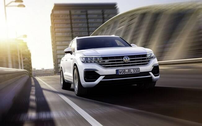 A volta do Touareg também é uma das apostas da Volkswagen no Salão do Automóvel, em uma categoria premium