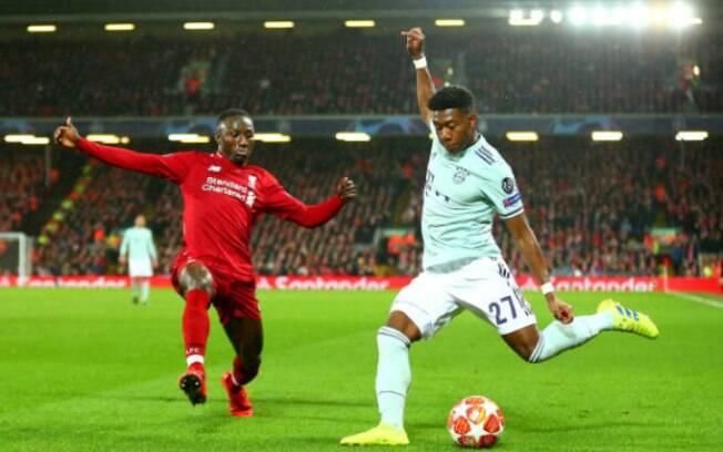 Liverpool e Bayern ficaram no 0 a 0 na primeira partida das oitavas de final