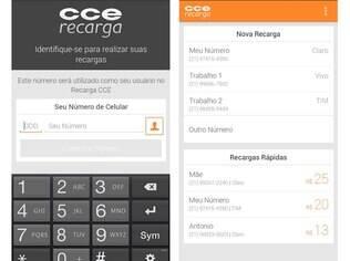 CCE Recarga possibilita que usuários coloquem crédito nos celulares pelo aplicativo