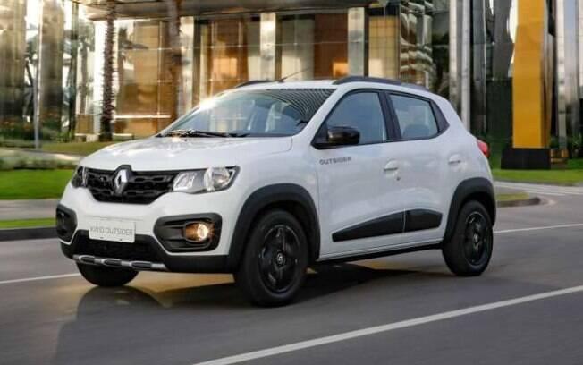 Renault Kwid, um dos mais vendidos na Argentina: leva bandeira da França na terceira maior exportadora de autoveículos