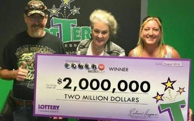 Donald e Joanna já tem planos para todo o dinheiro que faturaram após jogar na loteria dos Estados Unidos