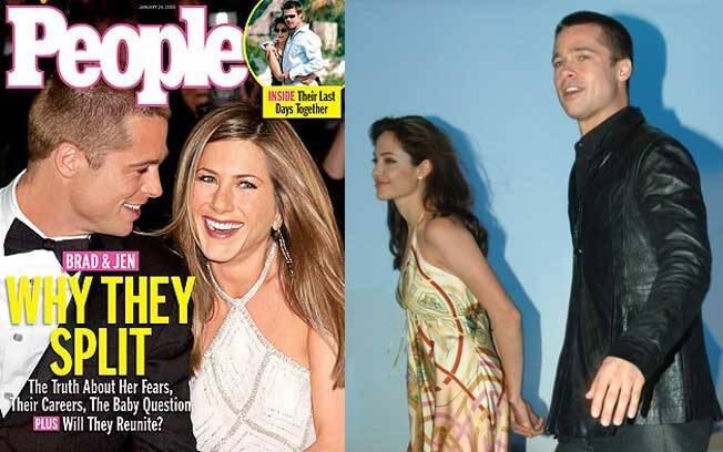 Enquanto o mundo se chocava com a notícia de que o casal de ouro do show biz terminava o casamento, Brad e Angelina faziam mistério na coletiva de Sr. e Sra. Smith