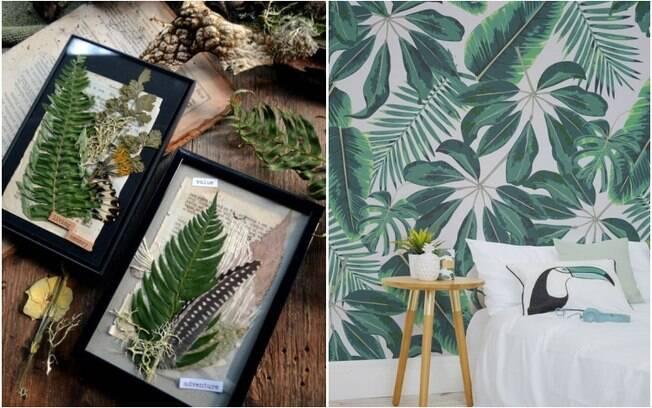 Usar plantas na decoração também é uma tendência, e há diversas formas diferentes de fazê-lo