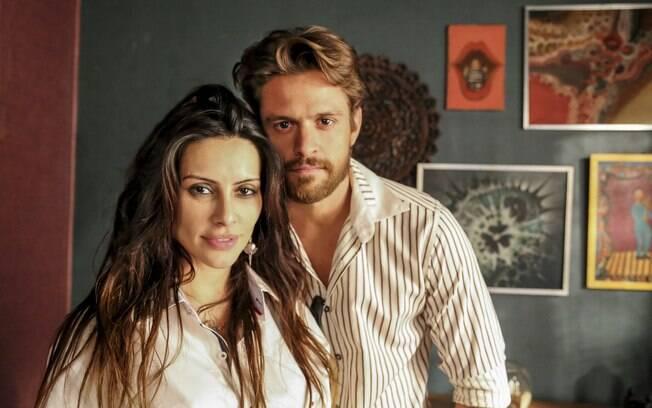 Cleo Pires e Alejandro Claveaux atuam juntos em 'O Caçador'