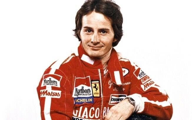Gilles Villeneuve, então na Ferrari, faleceu no dia 8 de maio de 1982