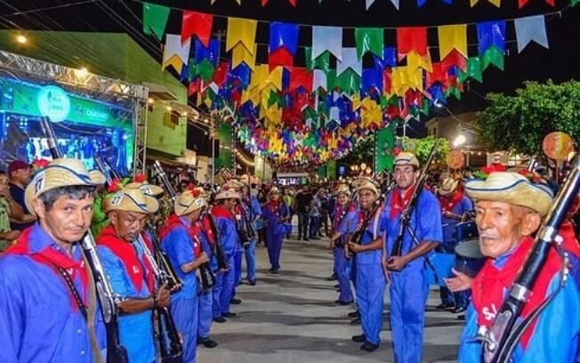 Foto mostra um pouco da festa que vai rolar na edição deste ano em São João de Caruaru, que acontece de 1 a 30 de junho