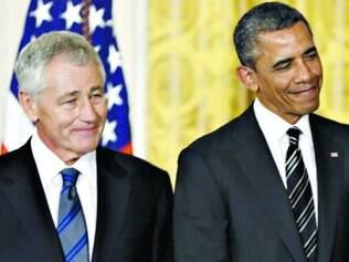 Decisão. Chuck Hagel e Obama teriam chegado a um acordo sobre a hora do secretário deixar o cargo