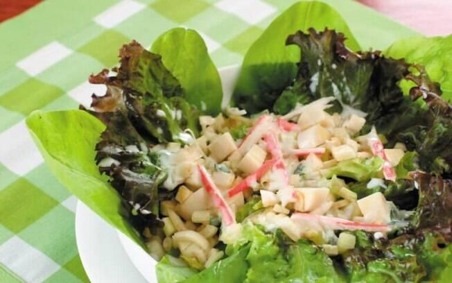 Salada de verão pronta em 20 minutos