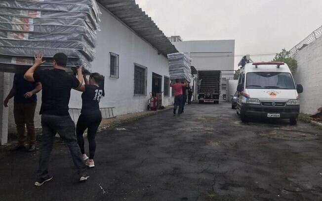 Baixada Santista recebe 15,6 toneladas de materiais de ajuda humanitária