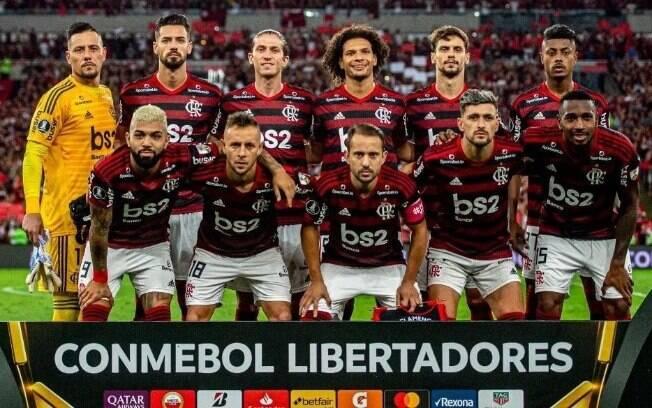 Time titular do Flamengo