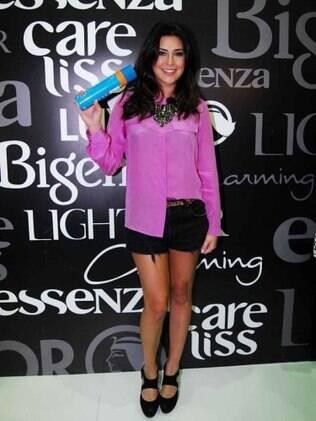 Fernanda Paes Leme na Hair Brasil