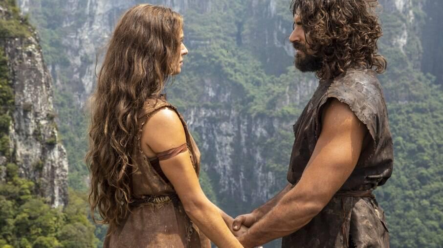 Adão e Eva no primeiro capítulo de