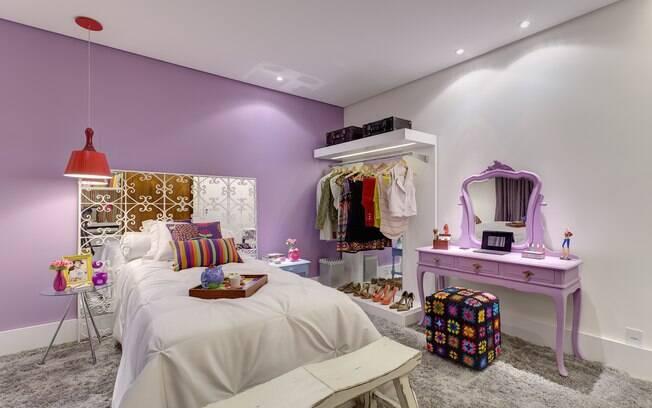 Mostras de decoração pelo Brasil valorizam praticidade  ~ Quarto Rosa E Lilas