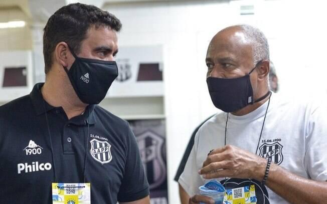 Fabinho Moreno  efetivado como tcnico da Ponte