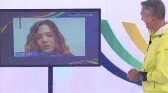 Ex-Globo leva invertida de Karen Jonz ao 'desmerecê-la'