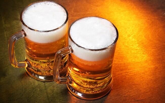 Cerveja pode ser consumida, mas é preciso ter moderação