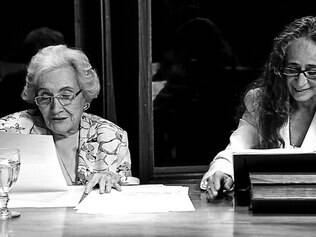 Afinidade. Dona Cléo e Bethânia externam na leitura uma mesma paixão pelos versos de Fernando Pessoa
