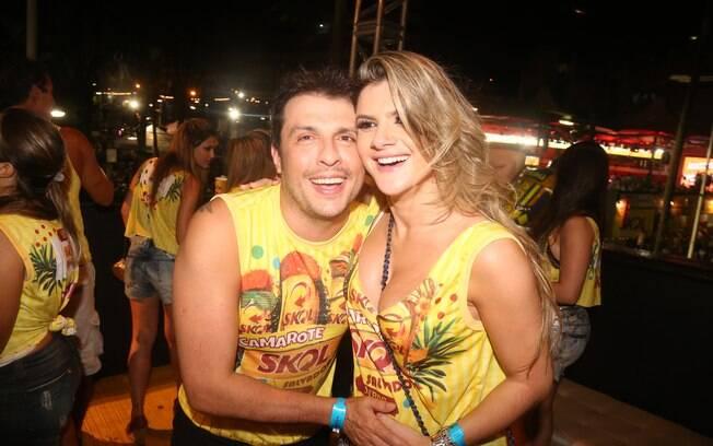 Wellington Muniz e a mulher, Mirella Santos