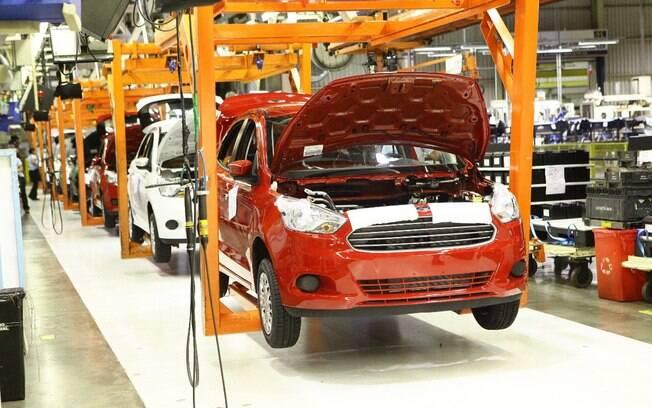 Fábrica da Ford em Camaçari (BA) é mais nova que a de São Bernardo do Campo (SP) e está pronta para produzir automóveis