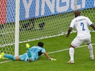 Second goal was doubtful and marked as own for Honduran goalkeeper
