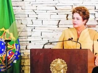 Tangente.  Dilma repetiu assuntos do discurso de posse, sem se aprofundar nas primeiras ações