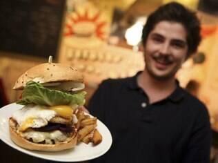 O hambúrguer caprichado no Blas Burgerworks, em St. Ives: hambúrgueres para pessoas que se importam