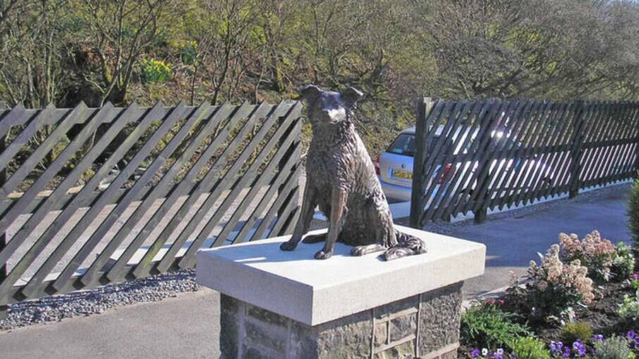 Conheça a história de câes tão leais que foram homenageados com estátuas