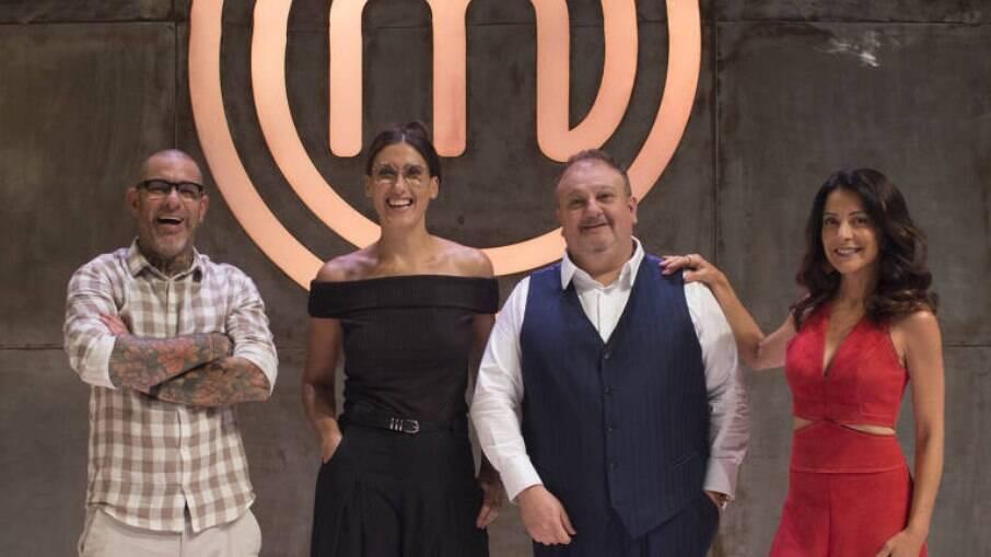 Henrique Fogaça, Paola Carosella, Erick Jacquin e Ana Paula Padrão