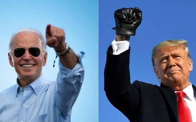 Joe Biden e Donald Trump