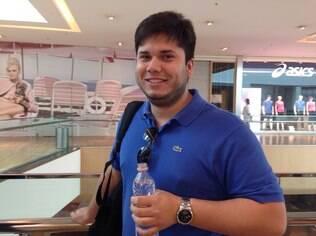 Luan Seixas era um dos fãs da Apple na fila do lançamento dos novos iPhones