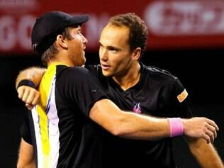 Soares e Peya venceram a semifinal no Torneio de Eastbourne