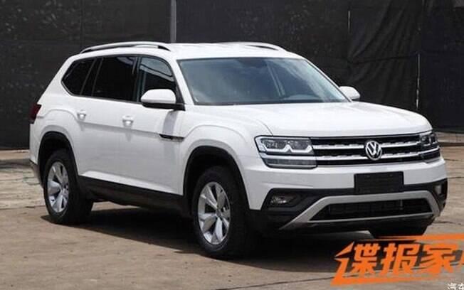 O Volkswagen Atlas tem um equivalente chinês chamado Teramont, com o mesmo design. O que muda é o motor do modelo oriental, que usa um 2.0 TSI de 180 cv.