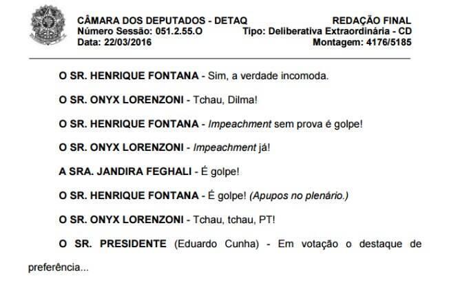 Deputados discutem ação contra Dilma durante discussão sobre repasses para a área da saúde