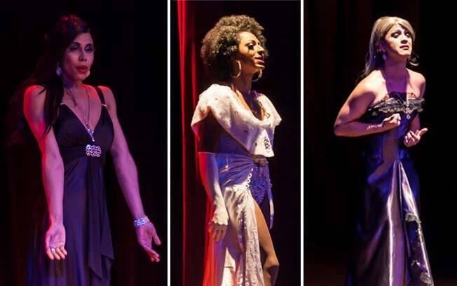 O espetáculo Divas apresentou repertório variado e muita emoção de seus performers