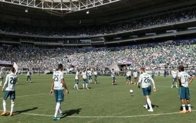O Palmeiras gostaria de fazer um treino aberto no Allianz Parque, mas foi impedido pelo regulamento da Conmebol