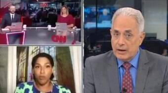 Convidada da CNN critica presença de Waack em debate sobre racismo