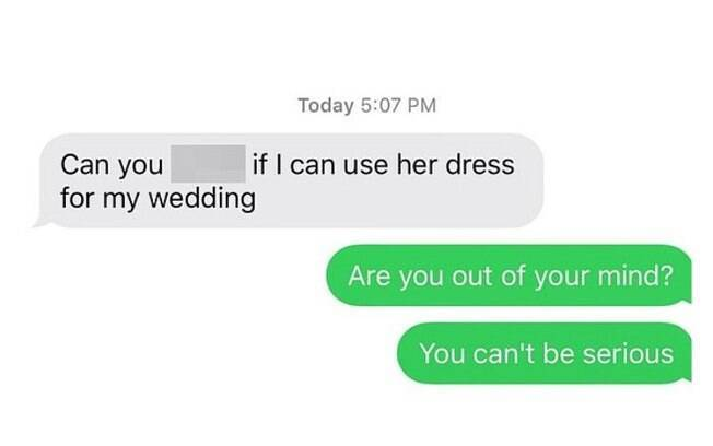 Conversa que a mulher teve com a sogra