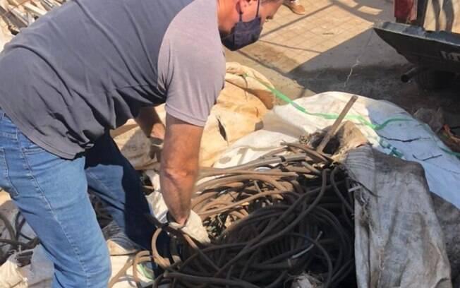 Polícia prende trio por furto e receptação de cabos de energia em Paulínia