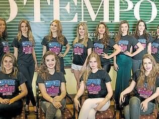 As garotas que serão escolhidas pelos leitores com as jovens já finalistas