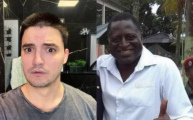 Felipe Neto e Helio Lopes