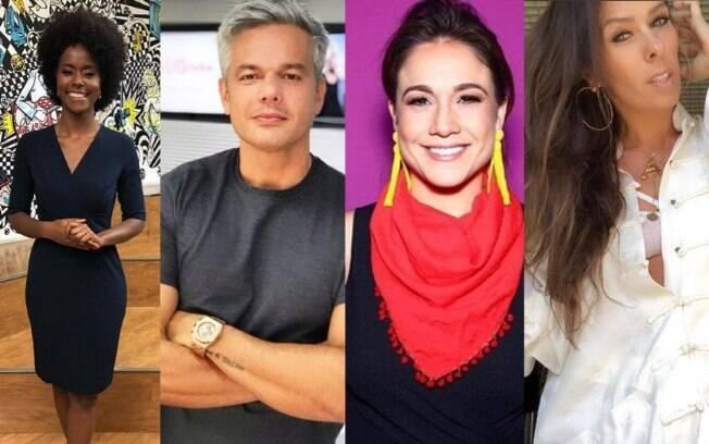 Maju Coutinho, Otaviano Costa, Fernanda Gentil e Adriane Galisteu saíram da Rádio Globo