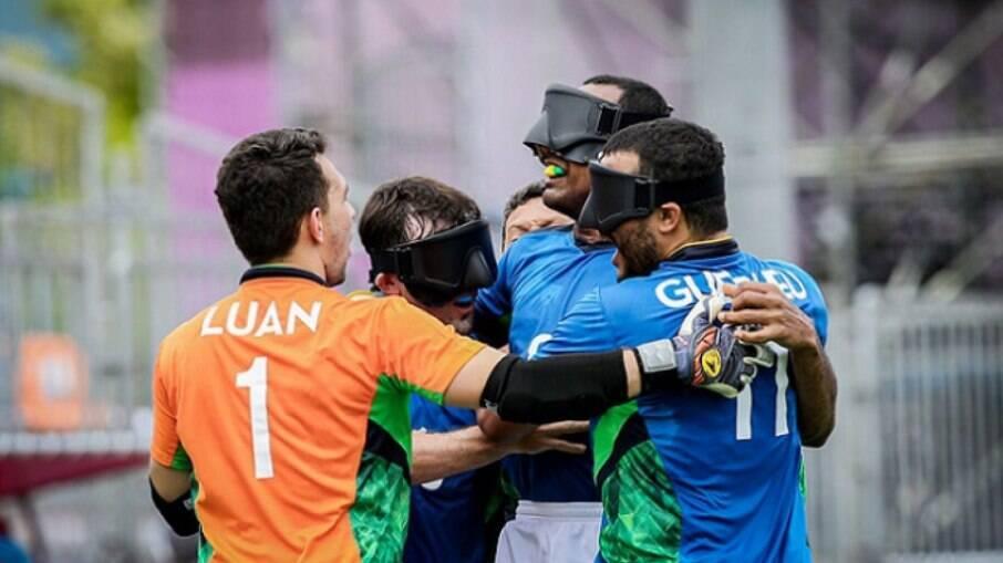 Brasil busca vaga na final do futebol de 5